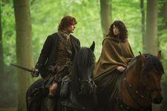 "#Outlander season 1x08 ""Both Sides Now"" #ClaireRandall #ClaireBeauchamp #ClaireFraser #CaitrionaBalfe #JamieMacTavish #JamieFraser #SamHeughan"