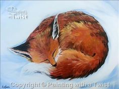Animal Rescue League Wildlife Center PWAP - Pittsburgh, PA - South Painting Class - Painting with a Twist