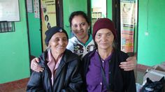 Honduras Jan. 2014 Medical/Dental Brigade, San Antonio Valle - these 2 elderly ladies were able to get some much needed medicine from our clinic
