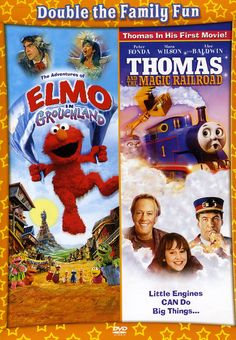 Sony Home Pictures Adventures of Elmo in Grouchland/Thomas and The Magic Railroad
