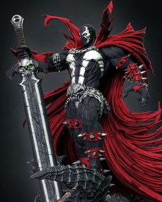 Spawn Characters, Black Anime Characters, Comic Book Characters, Comic Books Art, Fantasy Characters, Comic Art, Spawn Comics, Anime Comics, Spawn Toys
