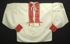Slovak Embroidered Man's Shirt