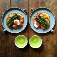 frühstücksideen leckeres frühstück gesundes frühstück rezepte lachs spargel