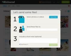 File-sharing startup Kicksend launches new Web app and goes free & unlimited across all platforms