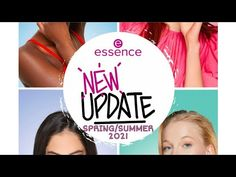 Essence UPDATE | New products from March 15 ?!? | Spring-Summer 2021 - YouTube Channel, March, Spring Summer, News, Youtube, Products, Youtubers, Gadget, Mac