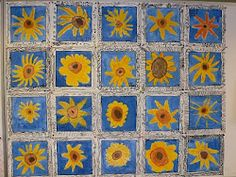 next year's auction project? Auction Projects, Class Projects, Art Projects, Van Gogh For Kids, Art For Kids, Art Van, Learn Art, Kindergarten Art, Collaborative Art