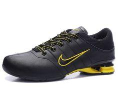 824aa290b17f Chaussures Nike Shox R2 Noir/ Jaune [nike_12171] - €45.95 : Nike Chaussure