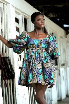Must See Ankara Skirt Designs For Ladies - Afro Fahionista Short Ankara Dresses, African Print Dresses, African Fashion Dresses, African Dress, African Prints, Nigerian Fashion, Ghanaian Fashion, African Jumpsuit, Women's Dresses
