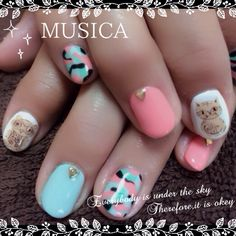 アートネイル MUSICA♡