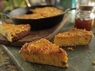 Get this all-star, easy-to-follow Loaded Skillet Cornbread recipe from Damaris Phillips