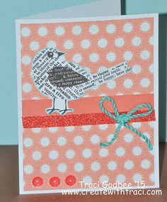 Create with Traci: August card kit