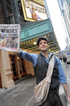 Awards have dramatic subplots Tony Awards 'Newsies,' 'Once,' Andrew Garfield among the big stories - Daily News One day I'm going to NY and I'm going to see Newsies on Broadway. Musical Theatre Broadway, Broadway Shows, Musicals Broadway, Broadway Nyc, Broadway Plays, Jack Kelly, Ted, Theatre Nerds, Theatre Shows