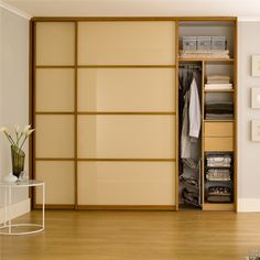 Fitted Sliding Door Wardrobe Hpd439 - Sliding Door Wardrobes - Al Habib Panel Doors