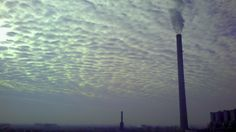 #industrialized #morning #cloudy