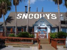 Snoopy's Corpus Christi, TX...definitely stop here when visiting Corpus...great food with a great view on the water