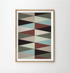 35.00$ - Abstract print poster, mid century print poster, retro print poster, geometric print poster, poster, posters  #block #box #cube #symbol #3d #business #icon #sign #design #paper #graphic #color #card #black #button #render #internet #square #communication #empty #blank #shiny #money #web #set #colorful #shopping #element #technology #shape #computer #object #celebration #package #building #gift #modern #yellow #art #orange