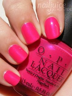 "OPI ""That's Berry Daring"" just got my nails done with this color..love it!"