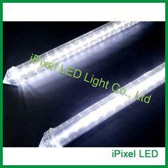 DC24V Auto LED Meteor Tube Lights,smd2835 60leds 0.5m snow fall effects cool white led tube #Affiliate