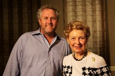Andrew Breitbart with Phyllis Schlafly at Smart Girl Politics Summit 2011 in St. Louis.