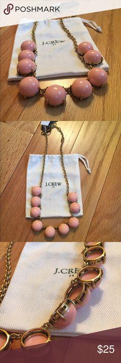 NEWJ. Crew Bubble Necklace NEWJ.Crew Bubble Necklace. Brand new peach statement necklace. Comes with jewelry bagno holdsno trades J. Crew Jewelry Necklaces