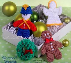 free craft patterns | Crochet Christmas Ornament Patterns | Crochet Guild