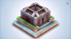 Mekorama walkthrough. Level 50 solution. Level Maker Space.