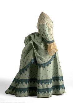 Victorian Polonaise Dress