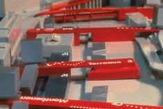 Bernard Tschumi Architects  (Bridge City - Idea of linking pieces together serving as bridges and programmatic transitions)