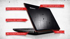 Lenovo IdeaPad Y480- gaming laptop