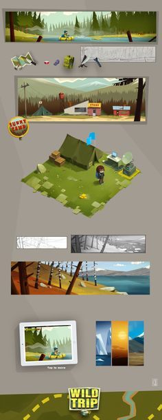 Some personal project by Denis Spichkin, via Behance ★ Find more at http://www.pinterest.com/competing/