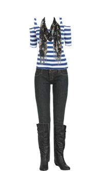 WetSeal.com Runway Outfit:  Casual Rock by audishoprock. Outfit Price $81.00
