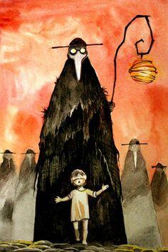 The Plague by Eugen Dashine