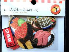 Sushi  Stickers  Japanese Food Stickers  by FromJapanWithLove