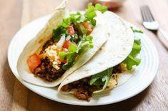 Recette de Tacos mexicains - Recettes de cuisine faciles et simples   Recettee