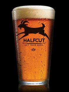 Halfcut Pint Glass