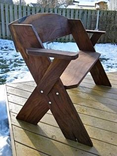 Leopold bench with arm rests by bleu.