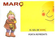 Dita MARÇ P3 Winnie The Pooh, Disney Characters, Fictional Characters, Printables, Seasons, School, Languages, Calendar, Note Cards