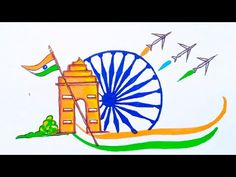 Independence Day Drawing / Independence Day Poster / 15th August Drawing / Happy Independence Day - YouTube Independence Day Drawing, Independence Day Poster, Happy Independence Day, August 15, The Creator, Drawings, Youtube, Sketches, Drawing
