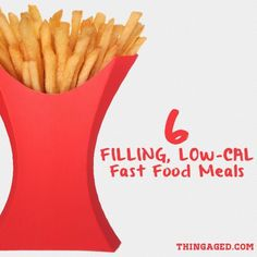 Eating out fast food doesn't have to taste gross or leave you still hungry! These low calorie meals are my fast food go-to's. Read more on !