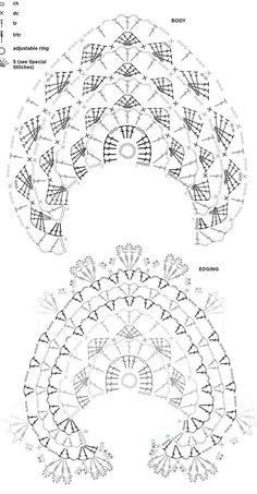 chales en crochet patrones chales en crochet patrones Learn the rudiments of how to needlecr Poncho Crochet, Crochet Shawl Diagram, Crochet Shawls And Wraps, Crochet Motifs, Crochet Stitches Patterns, Crochet Chart, Crochet Scarves, Crochet Lace, Shawl Patterns