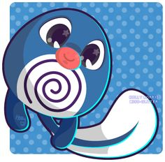 0998b96f 060 Poliwag by Miss-Glitter.deviantart.com on @deviantART Pokemon Tattoo,