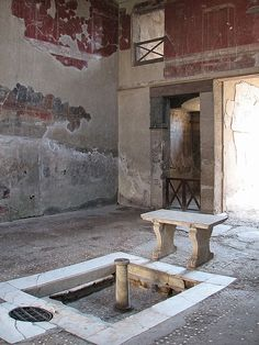House of The Wooden Partition, Herculanum, Italy Ancient Pompeii, Pompeii And Herculaneum, Ancient Ruins, Ancient Artifacts, Ancient History, European History, American History, Ancient Egyptian Art, Ancient Greece