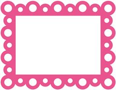 View Design: frame scalloped dot
