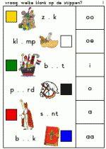 Knijpkaart Sint - Welke klank is weg? 1 Homeschool, Spelling, Homeschooling, Games