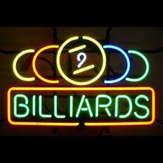 59BBIL  <br>9 Ball Billiards Neon Sign