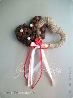 Своими руками КОФЕ-магниты мастер класс, поделка Valentines Day Food, Valentine Day Crafts, Coffee Art, Decoration, Christmas Wreaths, Holiday Decor, Handmade, Home Decor, Art Crafts