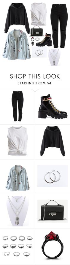 """Outfit"" by gabymyredis ❤ liked on Polyvore featuring Gucci and Vila Milano"
