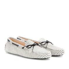 Tod's - Heaven New Laccetto striped calf hair loafers - mytheresa.com GmbH