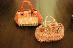 MALI PARMI straw bags from Italy. Now in stock for Spring / Summer