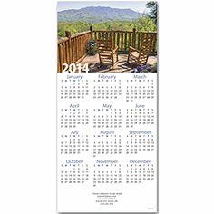 Western Retreat Z-fold Calendar New Year's Cards | Deluxe.com